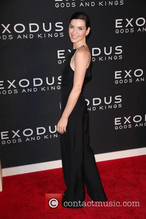 Julianna Margulies - Photographs of a variety of stars as they arrived at the New York Premiere of 'Exodus: Gods...