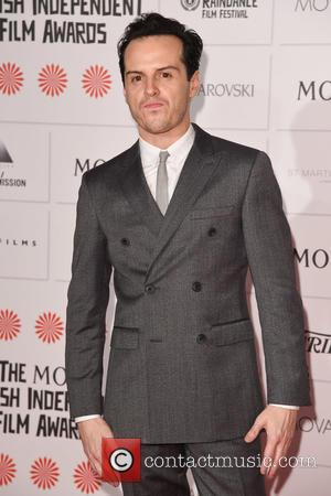 Andrew Scott - Photographs of a host of stars as they arrived for the Moet British Independent Film Awards which...