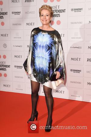 Emma Thompson - Photographs of a host of stars as they arrived for the Moet British Independent Film Awards which...