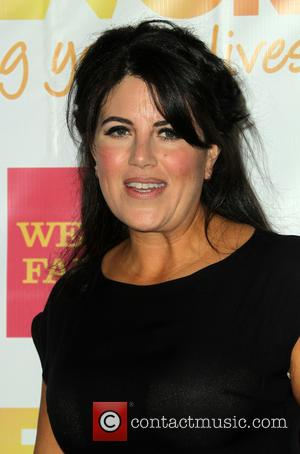 Monica Lewinsky - Shots from the bi-annual event TrevorLIVE which was held at The Hollywood Palladium in Hollywood, California, United...