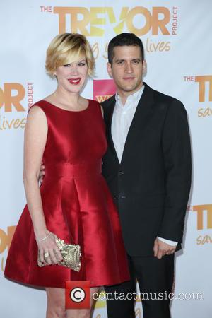 Molly Ringwald and Panio Gianopou - Shots from the bi-annual event TrevorLIVE which was held at The Hollywood Palladium in...