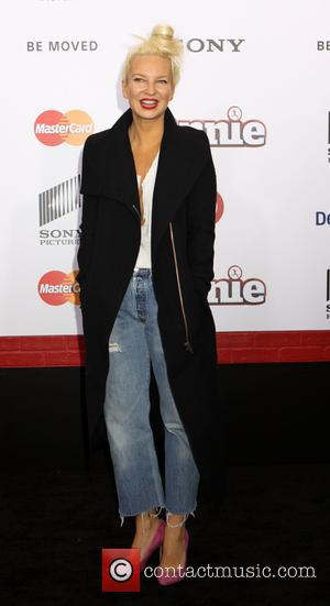Sia - New York premiere of 'Annie' held at the Ziegfeld Theater - Arrivals at Ziegfeld Theater - New York,...