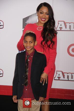 Lala Anthony and Kiyan Anthony