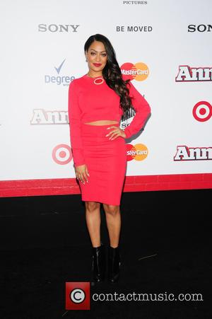 Lala Anthony - New York premiere of 'Annie' held at the Ziegfeld Theater - Arrivals at Ziegfeld Theater - NY,...