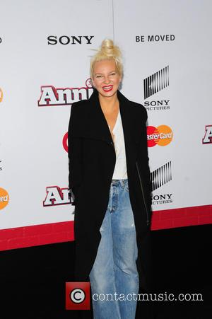 sia - New York premiere of 'Annie' held at the Ziegfeld Theater - Arrivals at Ziegfeld Theater - NY, New...