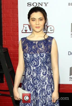 Lilla Crawford - Shots of a variety of stars as they arrived at the New York Premiere of the musical...
