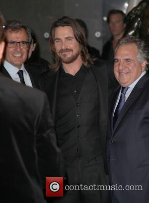 Peter Chernin, Christian Bale and Jim Gianopulos