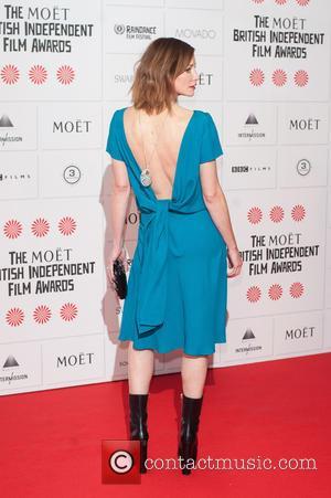 Sienna Guillory - Moet British Independent Film Awards held at Old Billingsgate - Arrivals. at Old Billingsgate - London, United...