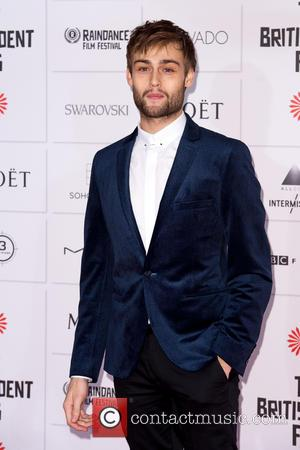 Douglas Booth - Photographs of a host of stars as they arrived for the Moet British Independent Film Awards which...