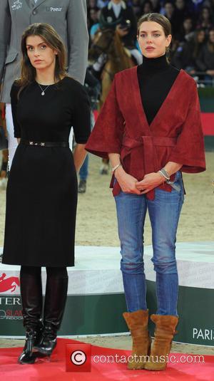 Fernanda Ameeuw and Charlotte Casiraghi