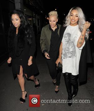 Stooshe - Celebrities attend Metro newspaper Christmas party held at Ramusake - London, United Kingdom - Monday 8th December 2014