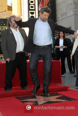 Andy Serkis - Director Peter Jackson honored with a star on the  Hollywood Walk of Fame at THE HOLLYWOOD...