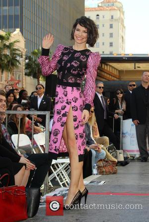 Evangeline Lilly - Director Peter Jackson honored with a star on the  Hollywood Walk of Fame at THE HOLLYWOOD...