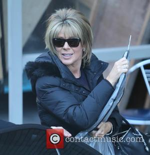 Ruth Langsford - Ruth Langsford outside ITV Studios - London, United Kingdom - Monday 8th December 2014