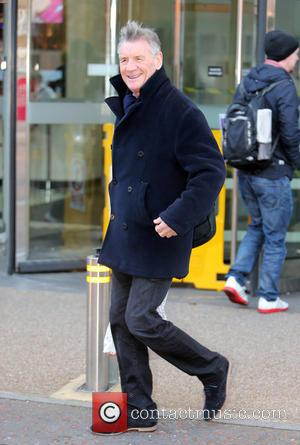 Michael Palin - Michael Palin outside the ITV studios - London, United Kingdom - Monday 8th December 2014