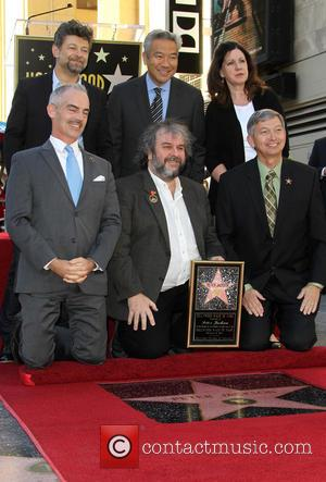 Andy Serkis, Mitch O'Farrell, Kevin Tsujihara, PETER JACKSON and Leron Gubler - Director Peter Jackson to be honored with a...