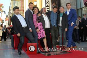 Andy Serkis, Richard Armitage, Evangeline Lilly, PETER JACKSON, Orlando Bloom, Elijah Wood and Lee Pace - Director Peter Jackson to...