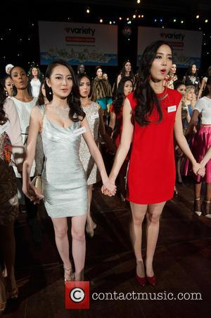 Erin Wong, Du Yang, Miss China and Kong