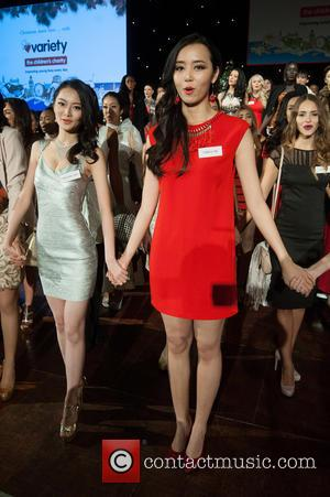 Erin Wong, Du Yang, Miss China and Kong
