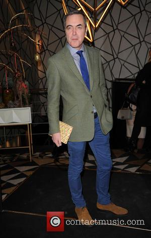 James Nesbitt - GQ Xmas lunch Arrivals - London, United Kingdom - Tuesday 9th December 2014