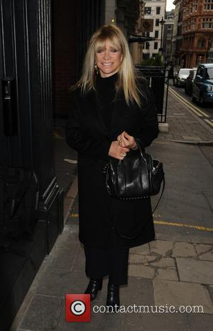 Jo Wood - GQ Xmas lunch Arrivals - London, United Kingdom - Tuesday 9th December 2014