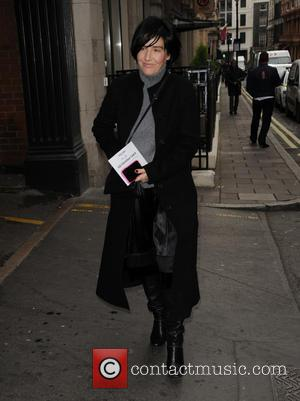 Sharleen Spiteri - GQ Xmas lunch Arrivals - London, United Kingdom - Tuesday 9th December 2014