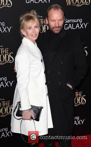 Trudie Styler, Sting and Gordon Sumner - Photographs from the red carpet as a vast array of stars arrived for...