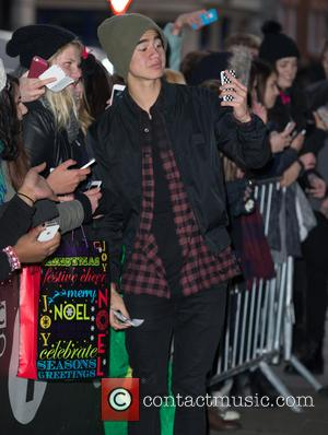 5 Seconds of Summer and Calum Hood - Celebrities at BBC Radio 1 at BBC Portland Place - London, United...