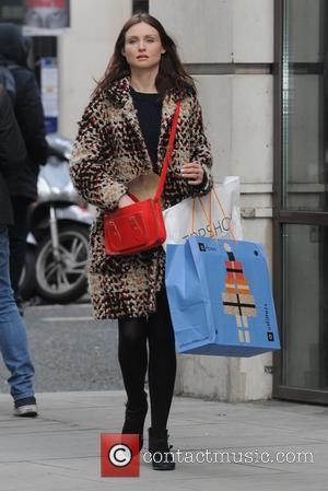 Sophie Ellis-Bextor - Celebrities at BBC Radio 2 - London, United Kingdom - Tuesday 9th December 2014