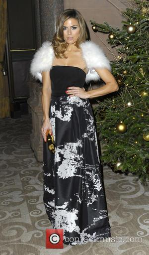 Zoe Hardman - Shots of a host of stars as they arrive at the Macmillan Celebrity Christmas Stocking Auction which...