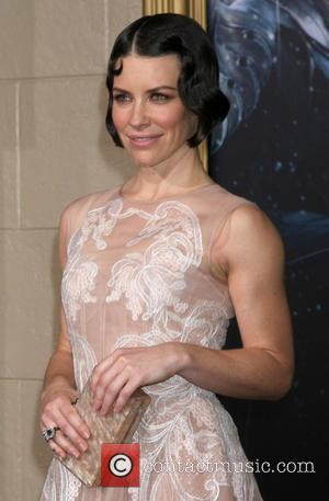 Evangeline Lilly - Shots of the stars of the third in the Hobbit trilogy 'The Hobbit: The Battle of the...