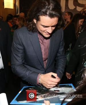 Orlando Bloom - 'The Hobbit: The Battle Of The Five Armies' Los Angeles premiere at the Dolby Theatre - Outside...