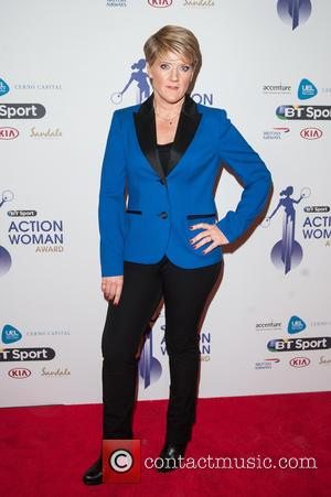 Clare Balding - BT Sport Action Woman Awards held at the Queen Elizabeth Olympic Park - Arrivals - London, United...