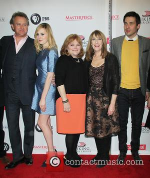 Hugh Bonneville, Laura Carmichael, Lesley Nicol, Phyllis Logan and Robert James-collier