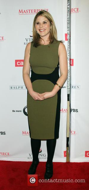 Jenna Bush Hager - 'Downton Abbey' season five cast photocall at the Millennium hotel in New York City - New...