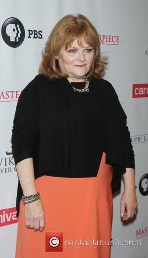 Lesley Nicol - 'Downton Abbey' season five cast photocall at the Millennium hotel in New York City - New York...