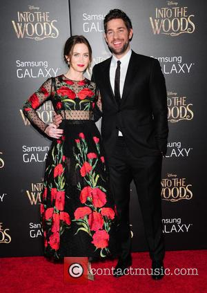 Emily Blunt and John Krasinski - Photographs from the red carpet as a vast array of stars arrived for the...