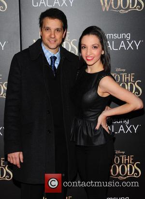 Ralph Macchio and Julia Macchio - Photographs from the red carpet as a vast array of stars arrived for the...