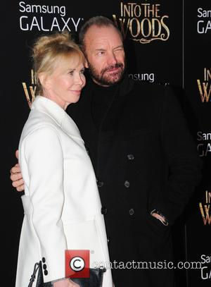Sting, Gordon Sumner and Trudie Styler - Photographs from the red carpet as a vast array of stars arrived for...