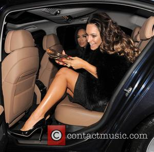 Kelly Brook - Photographs of UK glamour model Kelly Brook as she left the Sunday Times Style Christmas party along...