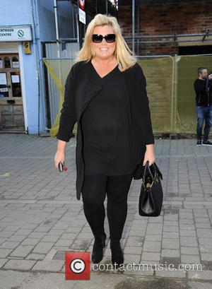 Gemma Collins - Audley Harrison meets TOWIE stars Gemma Collins and Lauren Goodger at Collins shop to sign copies of...
