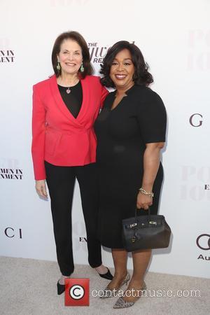 Sherry Lansing and Shonda Rhimes