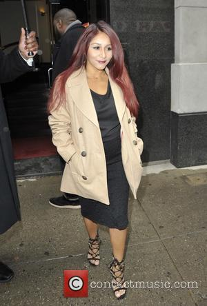 Nicole Snooki Polizzi - Nicole Snooki Polizzi at 'The Wendy Williams Show' - Manhattan, New York, United States - Wednesday...