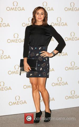 Jessica Ennis - Omega VIP dinner held at the Shard - Arrivals - London, United Kingdom - Wednesday 10th December...