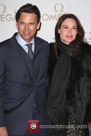 Claire Forlani - Cindy Crawford hosts VIP OMEGA dinner with OMEGA President Mr. Stephen Urquhart at Aqua in London -...