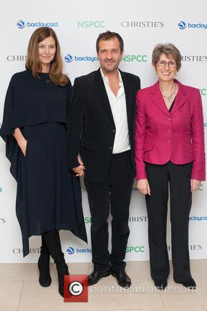 David Heyman, Rose Heyman and Karen Jankel - Paddington Trail auction held at Christie's in London - Arrivals - London,...