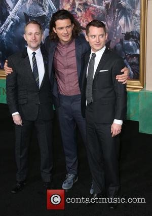 Billy Boyd, Orlando Bloom and Elijah Wood
