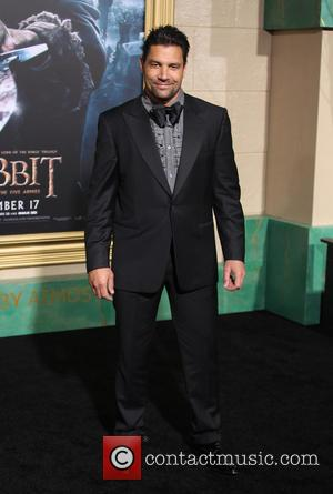 Manu Bennett - Photographs from the red carpet at the Los Angeles premiere of the third movie in the Hobbit...