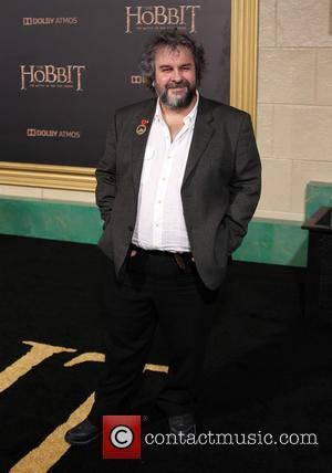 Peter Jackson - Photographs from the red carpet at the Los Angeles premiere of the third movie in the Hobbit...