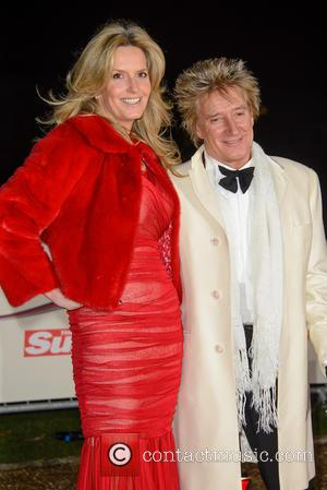 Rod Stewart And Penny Lancaster Renewing Vows